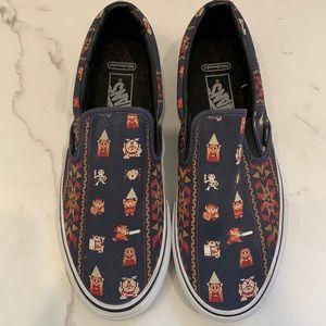 Vans x Nintendo Zelda Sneakers Size 9